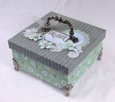 Pretty Box Looks like something you would make.