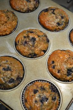Muffins au son et aux bleuets Muffins, Breakfast, Cupcake, Food, Kitchens, Recipes, Morning Coffee, Muffin, Cupcakes