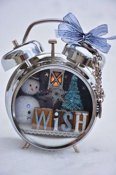 Tim Holtz Assemblage Clock Journeyawakensthesoul.blogspot.com