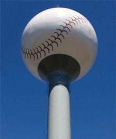 Charlotte Knights Baseball Watertower