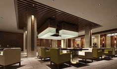 wood ceiling office cafe | ... interior design ceiling and seats interior ceiling design restaurant