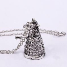 Doctor Who Dalek necklace Doctor Who Dalek necklace. 20 inch chain Jewelry Necklaces