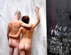 Minimalist body art by MUSA (Lukas Musil).