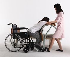 The process where caregivers have to shift their wards from a wheelchair to their bed can get tedious and cumbersome. The Lady Shifting is an aid that allows them to transfer the person for their chair to the bed and vice versa, with ease Occupational Therapy, Physical Therapy, Adaptive Equipment, Mobility Aids, Aging In Place, Medical Design, Assistive Technology, Cerebral Palsy, Elderly Care