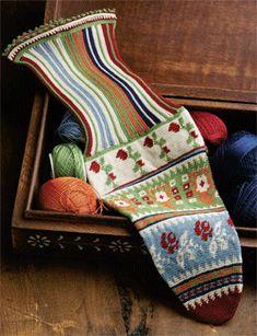 The Most Amazing Crochet Socks Ever - Tapestry Crochet Inspiration