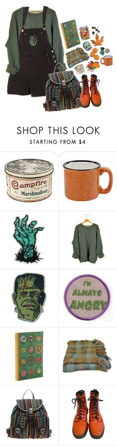"""#450"" by sappyholygirl ❤ liked on Polyvore featuring Chronicle Books, Woven Workz, ASOS and Dr. Martens"