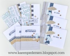 Karen Pedersen: July Play Group Scrappin' and Card Makin' Classes and Kits (No Worries)
