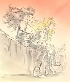 Blake and Yang RWBY