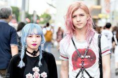 Devil666ish Designers in Harajuku w/ Harness, Avantgarde Tights & Vivienne Westwood (Tokyo Fashion, 2015)