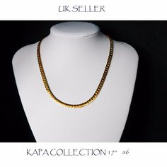 Mens Jewellery 22k Gold Plated Necklace for Men or Women Chain Indian gold look