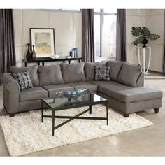 Living Room Ideas On Pinterest Grey Sectional Sectional