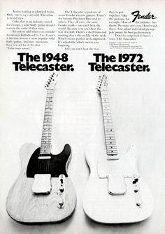 Vintage Tele ad; Interesting content... - Telecaster Guitar Forum