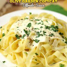 Olive Garden Copycat Alfredo Sauce