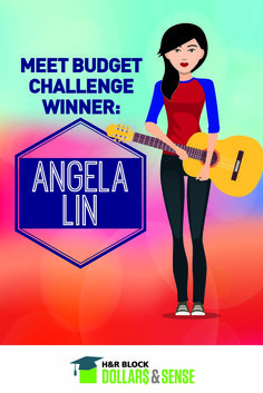 Angela Lin does not give up! After coming close to a scholarship her first year participating in the H&R Block Budget Challenge, she tried again next year and won! Find out more about her and how she plans on using her scholarship.