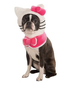 Take a look at this Hello Kitty Pet Costume by Rubie's on #zulily today!