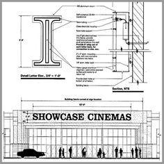 channel letter fabrication drawings - Google Search