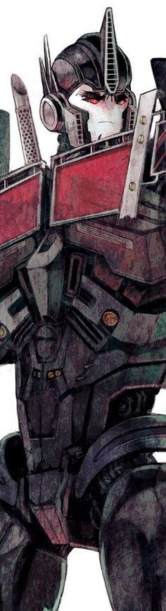Nemesis Prime TFP style.. there was an actual episode where MECH creates Nemisis Prime