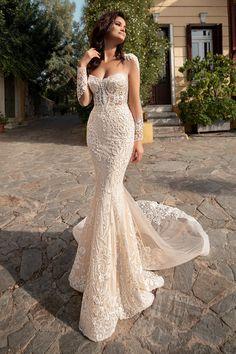 Mermaid Wedding Dress With Sleeves, Sexy Wedding Dresses, Bridal Dresses, Bridesmaid Dresses, Nice Dresses, Dresses With Sleeves, Formal Dresses, The Bride, Dream Dress