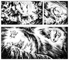 comic art by Masashi Tanaka