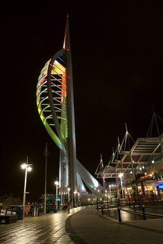 Spinnaker Tower, Portsmouth, UK