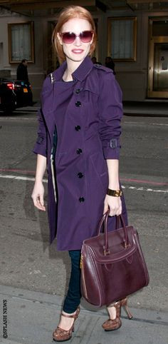Jessica Chastain- Style of the day by Stylebook.de