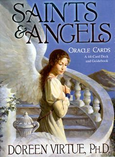 Saints Angels oracle cards (By Doreen Virtue .PH.D)