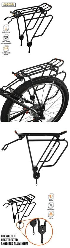 Carrier and Pannier Racks 177836: Ibera Pakrak Bicycle Touring Carrier Plus+ Rack Ib-Ra4 (For Non-Disc Brake... -> BUY IT NOW ONLY: $39.39 on eBay!