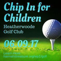 "What a gorgeous weekend! If you're dreaming of the links now's a great time to sign up for our ""Chip In for Children"" golf scramble at Heatherwoode Golf Club on June 9. Learn more at http://ift.tt/2oMXMIp #spring #golf #benefit #chipin4kids"