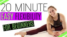 YouTube Beginner Workouts, Workout For Beginners, Youtube Home, Training Programs, Flexibility, Exercise, Fitness, House, Gymnastics