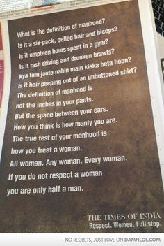 What Is The Definition Of Manhood?