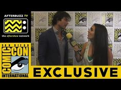 Ian Somerhalder (The Vampire Diaries) @ 2015 San Diego Comic-Con | AfterBuzz TV - YouTube 11/7/15