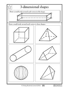 More Third Grade Math Worksheets 4th Grade Math Worksheets, Shapes Worksheets, Third Grade Math, Printable Worksheets, Math Activities, Free Worksheets, Free Printable, Coloring Worksheets, Fourth Grade