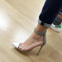 Heels or sneakers? I love both. Heels make me elegant and chic. Sneakers let me feel comfortable and young