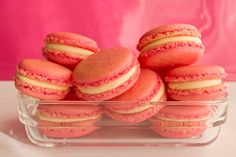 In this special Thermomix macarons masterclass I am teaching you everything you need to know about the art of making Macarons. You can find recipes to test y. Cookie Desserts, Cookie Recipes, Dessert Recipes, Mini Cakes, Cupcake Cakes, Cupcakes, Savoury Baking, Macaron Recipe, How Sweet Eats