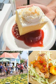 We just got back from the Epcot Flower and Garden Festival at Walt Disney World! We tried food from almost every booth, so check this list before you go so you know what to eat!