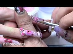 Brilliant nail art duo Viv Simmonds and Catherine Wong explain how they used acrylic, bling, foil, hand-painted accents and decorative layers to create sweet (pink) and saucy (red) nails for the February 2013 cover of NAILPRO. http://www.nailpro.com