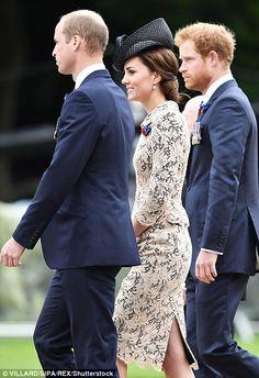 Kate with William and Harry