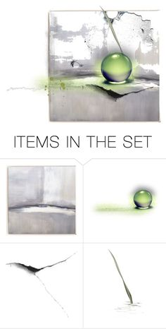 """THE OBJECT"" by vonka ❤ liked on Polyvore featuring art"