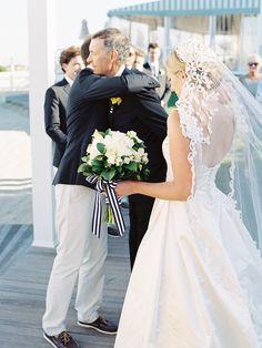 Photography: Trent & Dara Of Trent Bailey Photography - trentbailey.com  Read More: http://www.stylemepretty.com/2015/03/26/romantic-nautical-cape-cod-wedding/