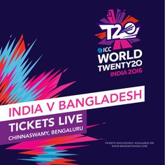Another thrilling Asian battle coming your way! Here's one last chance to watch #IND v #BAN live #WT20 #T20withBMS Book now!