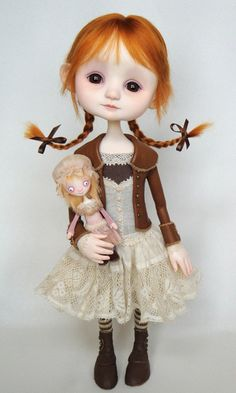 Emmy - original doll by Ana Salvador  (cute, cuddly and just a little bit creepy...)