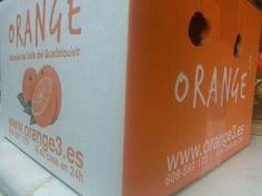 Me acaba de llegar esta caja de @orange3_es q son el lujo de las naranjas