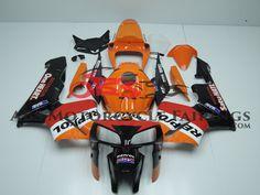 New Repsol Orange & Black Honda Golf Bags, Honda, Abs, Motorcycle, Orange, Black, Motorbikes, Black People