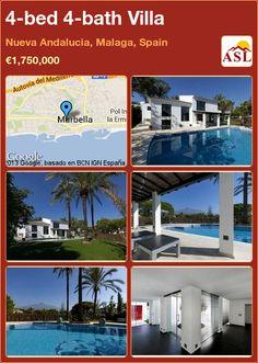 4-bed 4-bath Villa in Nueva Andalucia, Malaga, Spain ►€1,750,000 #PropertyForSaleInSpain
