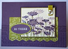 Upsy Daisy Sparkle CD by ClaireD - Cards and Paper Crafts at Splitcoaststampers
