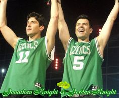 Jonathan and Jordan Knight