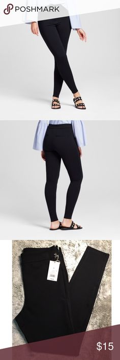 ✨Women's Ponte Pant- A New Day Black✨ ⬆️Product Details in photos above⬆️  NEW WITH TAGS NEVER BEEN WORN A New Day Pants Skinny