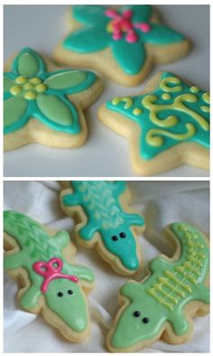Awesome Icing for perfect sugar cookies!  I've used it many times and it's wonderful and simple.  Makes beautiful cookies every time!