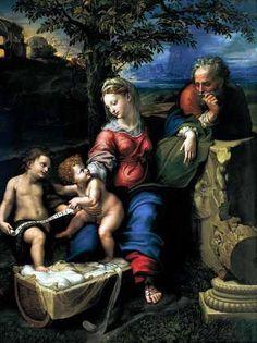 """""""La Sagrada Familia Del Roble"""" (1518), Rafael Sanzio"""