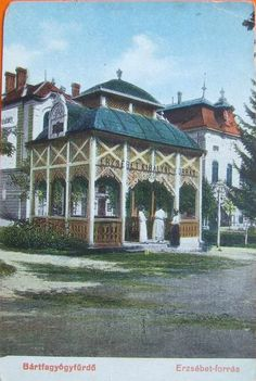 Bardejovske Kupele Old Photographs, Gazebo, Outdoor Structures, Mansions, House Styles, Home Decor, Kiosk, Decoration Home, Manor Houses